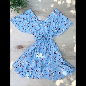 Bongo flowery teens dress